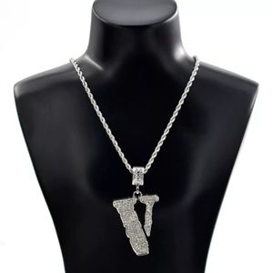 Silver VLone Chain